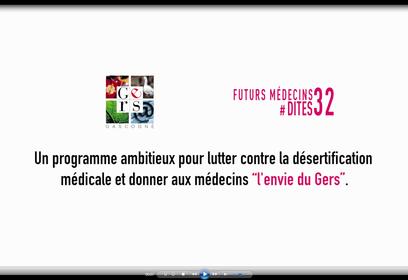 Désertification médicale : avec #Dites32, le Gers s'engage
